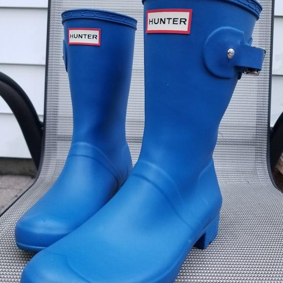 Hunter Women s Original Tour Short Rain Boot (dark a649ff3cc